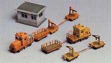 Greenmax No.2151 Track Maintenance Car with Depot (1/150 N scale)