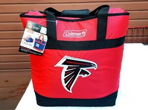 ATLANTA FALCONS COOLER X-LARGE SIZE BAG TOTE INSULATED HOT/COLD COLEMAN NEW