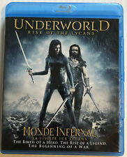 Underworld Rise of the Lycans (Bluray, Dvd, 2009) Canadian