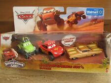 Disney Pixar Cars Radiator Springs 500 1/2 Walmart Exclusive 3Pack Set Nip