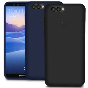 Slim Bumper for Huawei Y9 (2018) Rubber Back Plain Soft Case Mobile Cover Shell