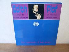 """LP 12 """" EDITH PIAF - Les amants d'un jour - EX/VG+ - MFP - MEP 5544 - FRANCE"""
