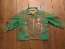 Oilily ragazzo verde / marrone Peso Leggero Giacca età 2 Y (92)