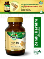 Zandu Haridra Strengthens Liver Function, Protects From Infections, 60 Capsules
