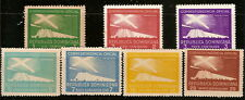 Dominican Rep. 1939/50, Official Lighthouse Stamps