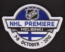 NHL PREMIERE HELSINKI PATCH MINNESOTA WILD Vs CAROLINA HURRICANES