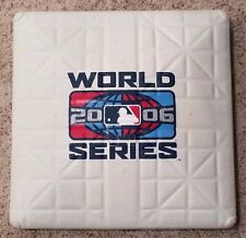 2006 St. Louis Cardinals Official Game World Series Base Detroit Tigers Pujols