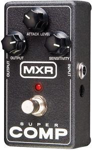 Used MXR M132 Super comp Compressor Guitar Effects Pedal Supercomp