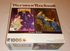 Norman Rockwell Doctor and Doll / Bedtime 1000 Piece Sure-LOX Puzzle NEW