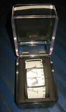 Genuine Leather Band Analogue Square Wristwatches