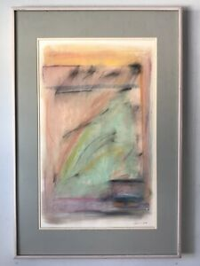 KATHRYN HENNEMAN MODERN ABSTRACT PAINTING - VINTAGE EXPRESSIONIST 1989