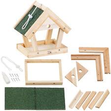 Vogelfutterhaus: Vogel-Futterhaus-Bausatz aus Echtholz, zum Aufhängen, 13-teilig