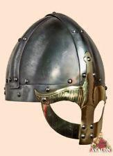 Viking Helmet Gjermundbu battle ready Medieval Helmet spartan roman