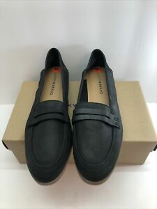 Lucky Brand Caylon Leather Penny Dress Shoes Loafers Black Size 9.5 New with box