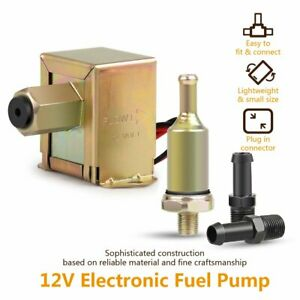 Universal Factory Facet Electric Fuel Pump 12V For Ford Cars Gas & Diesel 4-7PSI