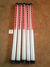 5 x JL Golf clikka tubes. Ball retriever. Holds 21 balls NEW