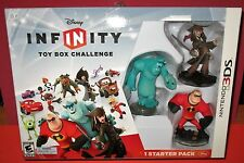 Disney Infinity Toy Box Challenge Nintendo 3DS Starter Pack - *New! *Free Ship!