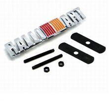 RALLIART Front Grill Badge Rally Emblem Logo Metal Car Lancer Evo Colt Mr Fq