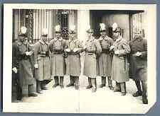 France, Ecole militaire Vintage silver print. Signatures originales de ceux prés