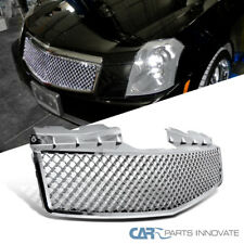 03-07 Cadillac CTS Front Chrome ABS Mesh Front Hood Grill Grille Replacement