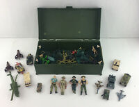 Lot Of Military Action Army Toy Plastic Figurines, Vehicles, G.I. Joe, Matchbox
