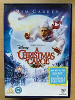 A Christmas Carol DVD 2009 Charles Dickens Scrooge Movie Classic w/ Jim Carrey