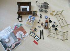 Job Lot of Dolls House Furniture & Accessories