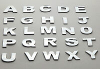 10 Piece Car Auto 3D Chrome Letters or Numbers Emblem, Badge Sticker Top Quality
