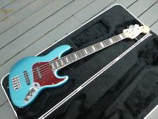 Fender American Elite 5 Jazz bass. Rare Ocean Turquoise, Ebony, Sadowsky preamp