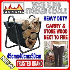 Fire wood box Wood storage fire places Callapsable  50cm