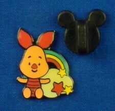 Piglet with Rainbow and Cloud Pooh and Friends set Cuties HKDL Pin # 46513