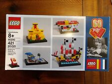 New, Factory Sealed Lego Set, 40290: 60 Years of Lego Bricks, Promotional set.