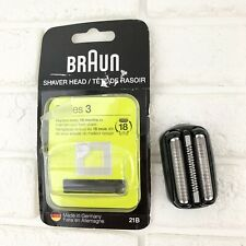 Braun 21B Shaver Replacement Part, Black, Compatible Models 300s 310s Series 3