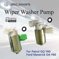 For Nissan Patrol Wiper Washer Pump GQ Y60 Ford Maverick SWB 3Dr LWB 5Dr Wagon