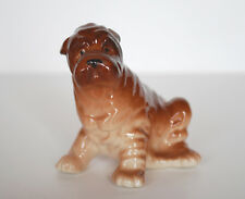 PORCELAIN Figurine DOG PUPPY Shar-pei.UNIQUE.Simply perfect