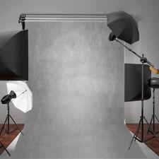 AU 5x7ft Gradient Gray Vinyl Background Backdrop Photography Photo Studio Props