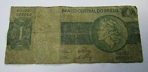 BILLETE DE 1 CRUZEIRO DE BRASIL