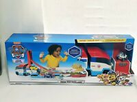 Kids Toy Figures Launch'N Haul Paw Patroller Transforming 2-in-1 Track Set Gift