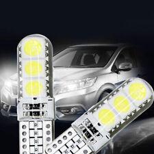 2pcs T10 168 194 W5W COB Silica Gel Car LED Bulbs Lamp License Plate Door Light