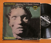SXL 2003 ED1 Beethoven Symphony no. 5 Ansermet Decca WBG 1st BB
