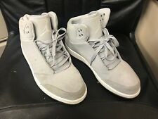 Nike Jordan 1 Flight 5 Wolf Grey & White Mens Size 10 881434-003 11/2016
