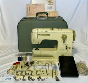 Vintage Bernina Record 730 Sewing Machine - Pedal Case & Extras - Just Serviced!