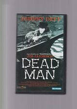 VHS DEAD MAN Jim Jarmusch Johnny Depp RARO lucky red deltavideo