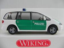"""Wiking 10407 Ford Galaxy (1995-2000) """"POLIZEI"""" in grün/weiß 1:87/H0 NEU/OVP"""