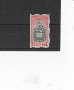 BRITISH GUIANA , 1951, SG328 3c BLACK AND RED, MH