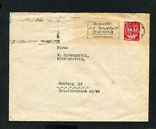 Dt. Reich Nr. 545 EF auf Firmen Bedarfsbrief  (EB-4)