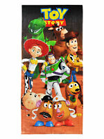 Toy Story Beach Towel 58x28 Woody Jessie Buzz Lightyear Kids
