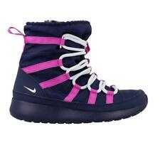Juniors NIKE ROSHE ONE HI GS Navy Boots 807758 407