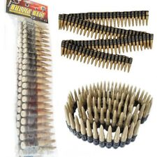 Bullet Ammo Belt Army Mexican Cowboy Cowgirl Western Bandit 80s Fancy Dress