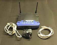 Linksys wireless router WRT54GS